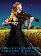 R91 › 10/1/16 Hardly Strictly Bluegrass Festival, Golden Gate Park, San Francisco, CA poster by Lauren Yurkovich