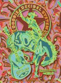 R89 › 9/30/16 Smiley's Saloon, Bolinas, CA poster by Gregg 'GIGART' Gordon
