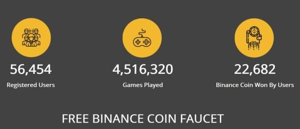 FAUCET BINANCE BNB