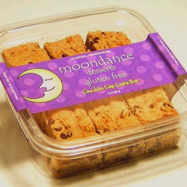 chocolate chip cookie bar, gluten free, chocolate
