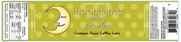 gluten free coffee cake, gluten free, moondance gluten free, coffee cake
