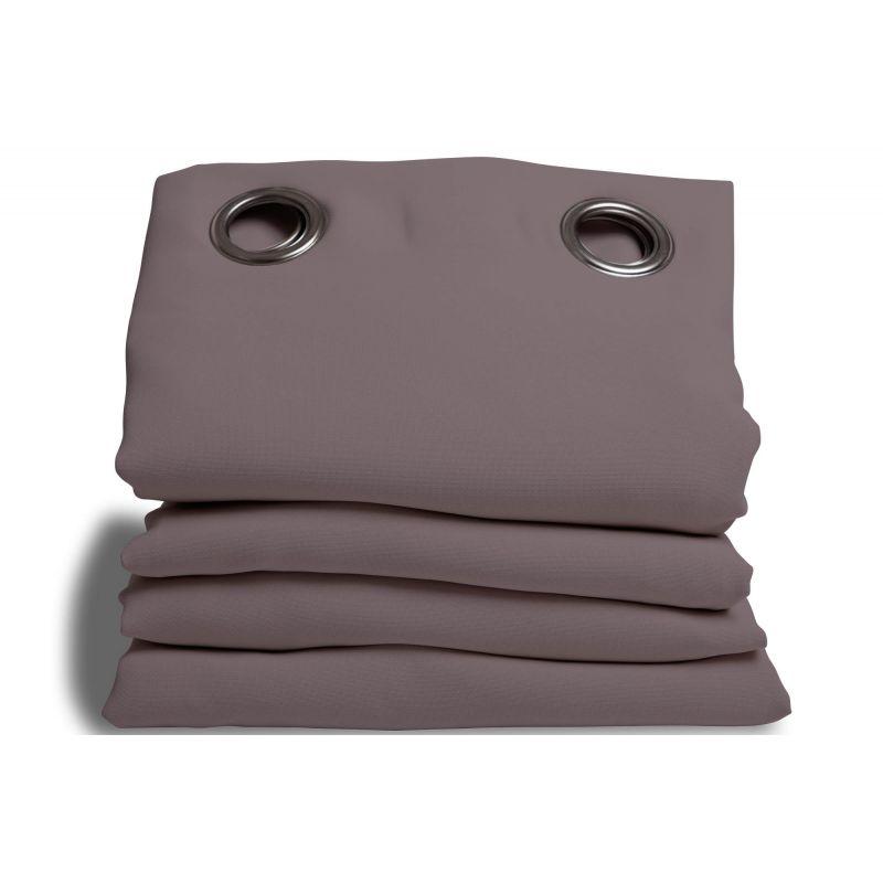 rideau phonique performance plus gris poivre rideaux moondream