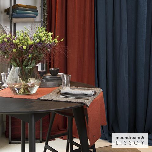 rideau lin naturel rideaux et