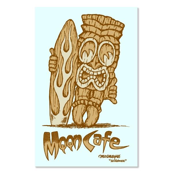 Tiki Mqqn Cafe Decals Mooneyes Stickers