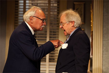 Eric Peterson and Kenneth Welsh in The Sunshine boys