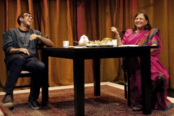 Ravi Jain and Asha Jain in Brimful of Asha