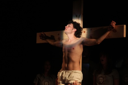 Andrew Kushnir in Passion Play (Photo Credit Keith Barker)