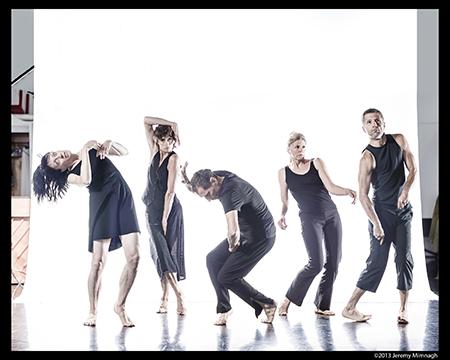 Eunoia Dancers Lucy Rupert, Claudia Moore, Miko Sobreira, Rebecca Hope Terry, and Gerry Trentham,