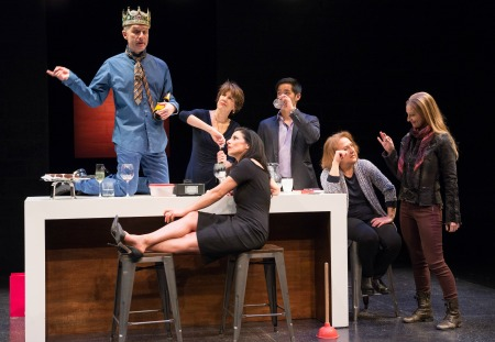The cast of Cake and Dirt