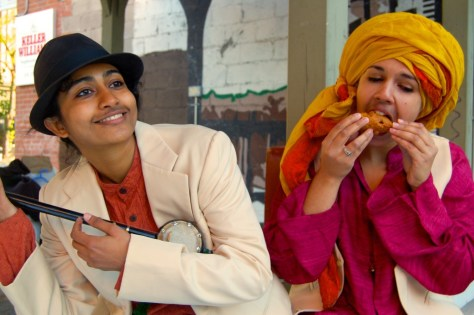 Sindhuri Nandhakumar (left) & Brittany Miranda
