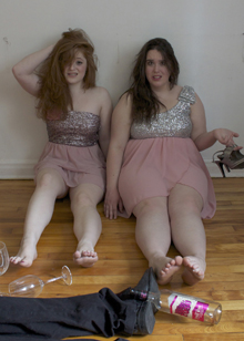 photo of marissa caldwell and michelle blanchard