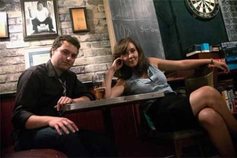 Photo of Blue Bigwood-Mallin and Rachel Blair - Toronto Fringe