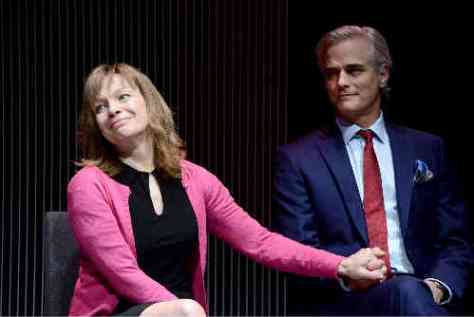 Martha Burns and Paul Gross in Domesticated by Bruce Norris, Nov. 17-Dec. 13, 2015 at Toronto's Berkeley Street Theatre
