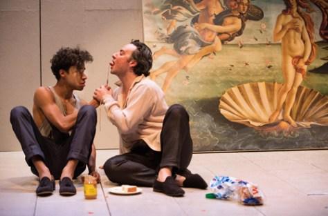Photo of Stephen Jackman-Torkoff and Salvatore Antonio in Botticelli in the Fire by Cylla von Tiedemann