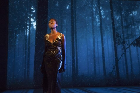 Neema Bickersteth in Nightwood Theatre's Century Song