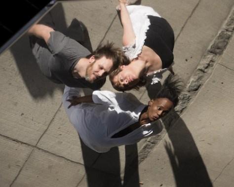 Photo of Stevie Jay, Erica Wood,and Jamillah Ross by Jon Blacker