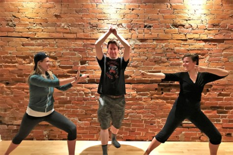 Photo from D&D Yoga