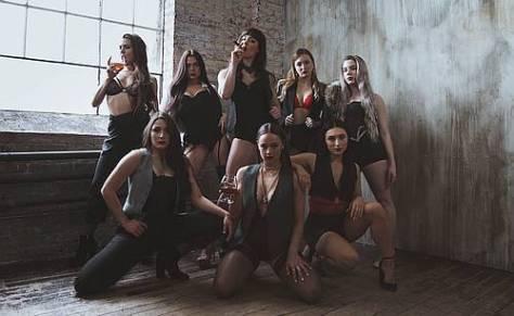 Photo of the Cast of La Femme Kabarett