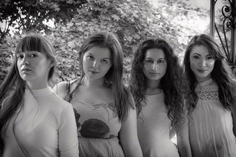 Photo of Jessica Bowmer, Iliana Spirakis, Adriana MoraesMendoza and Jeysa Caridad in F*cking Perfect by Jaimee Hall