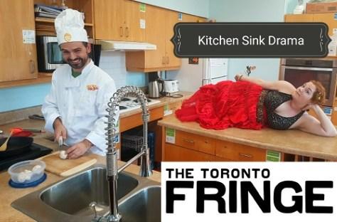 Photo of Mladen Obradović and Kelly Marie McKenna in Kitchen Sink Drama