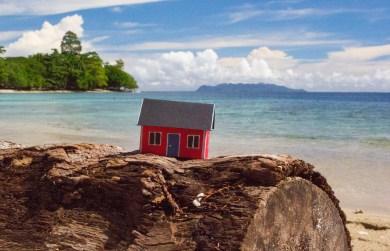 Hauson the Beach. On Honiara, Salomon Islands by Tim Vistarini.