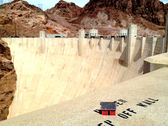 """Power house."" – Hoover Dam - AZ 201319. #2.19 Robin Lilja"