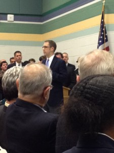 Standing room only for many county residents