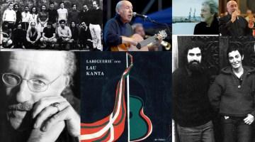 Euskal Abestiak. Selección de las mejores canciones vascas de autor