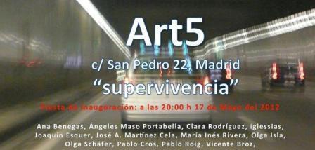 Ana Benegas Haddad. Escultura. Galería Art5