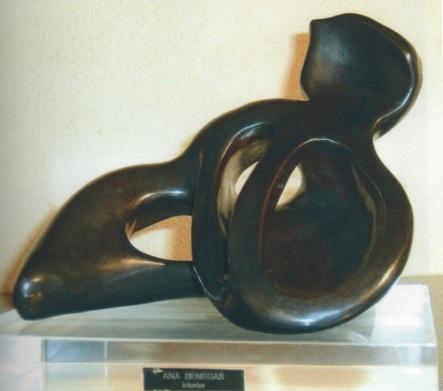 Ana Benegas Haddad. Interior. Escultura.