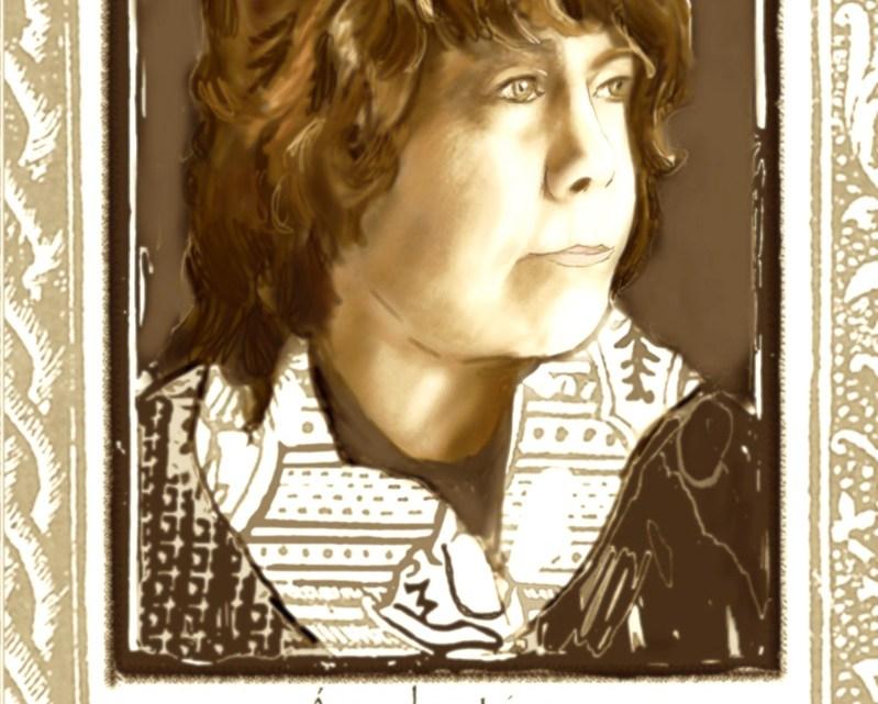 Ángeles Sánchez Gandarillas. Escritora by Rosa Prat