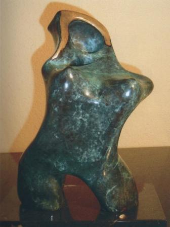 Mujer y Virgen Serie Mares