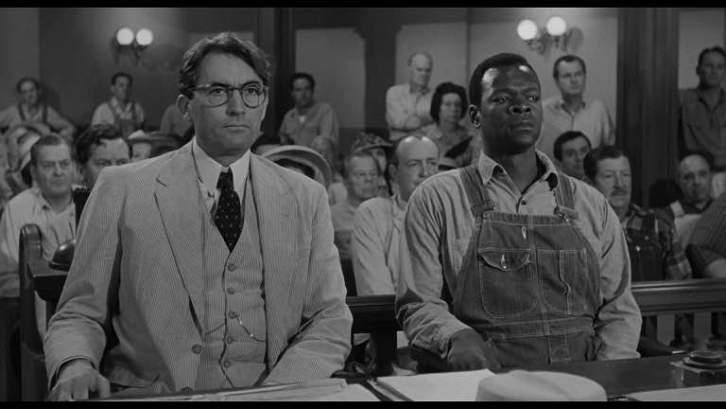 Matar a un ruiseñor. Harper Lee. Gregory Peck y Brock Peters en la película de Robert Mulligan.