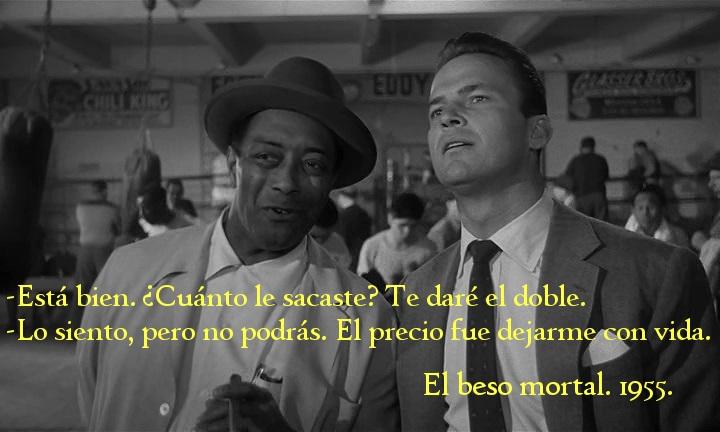 El Beso Mortal (Kiss Me Deadly). Robert Aldrich 1955. Las apuestas.
