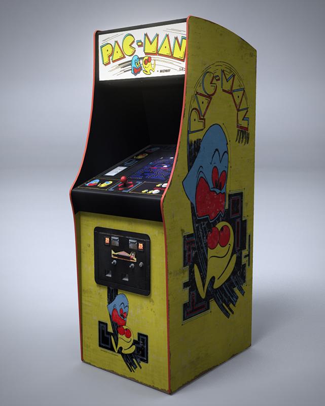 Resultado de imagen de imagenes de la máquina de videojuego pacman que no tengan derechos de autor