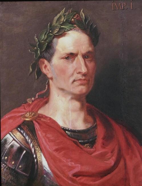 Retrato de Julio César por Rubens. Con Julio a cuestas. MoonMagazine