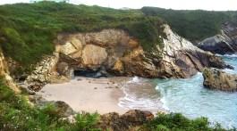 La Playa de Las Catedrales. Fotografía de Rosa Prat Yaque.