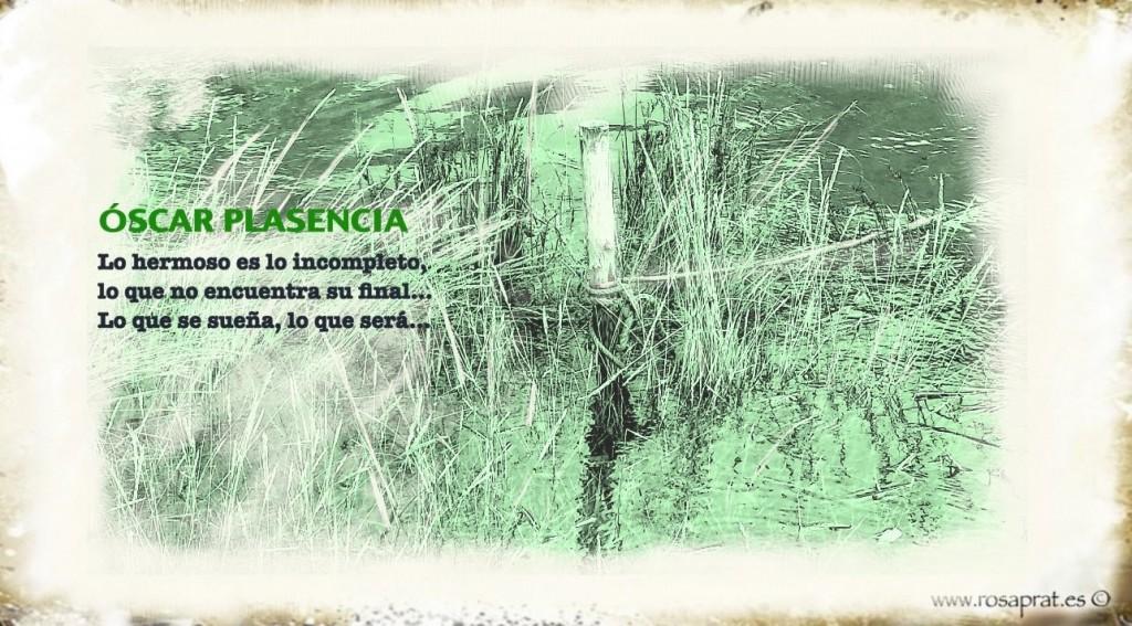 El escritor ya tiene quien le robe. Texto Óscar Plasencia. Dibujo digital sobre fotografía de Rosa Prat Yaque.