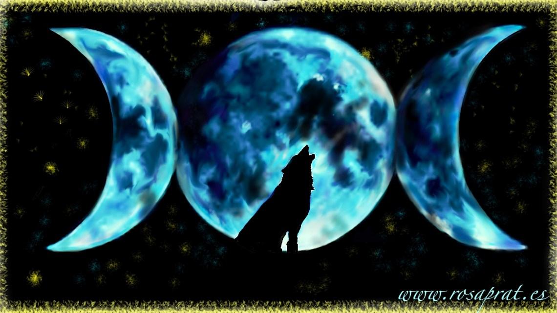 Luna traidora. Luna Azul de Rosa Prat Yaque