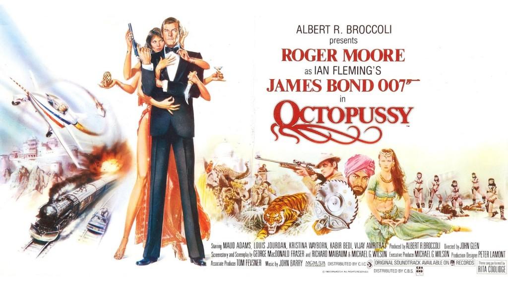 Octopussy. Moore, Roger Moore. Un Bond con sentido del humor.
