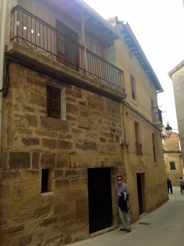 Rescatando a Sebastián Iradier del olvido. Casa de Sebastián Iradier en Lanciego.