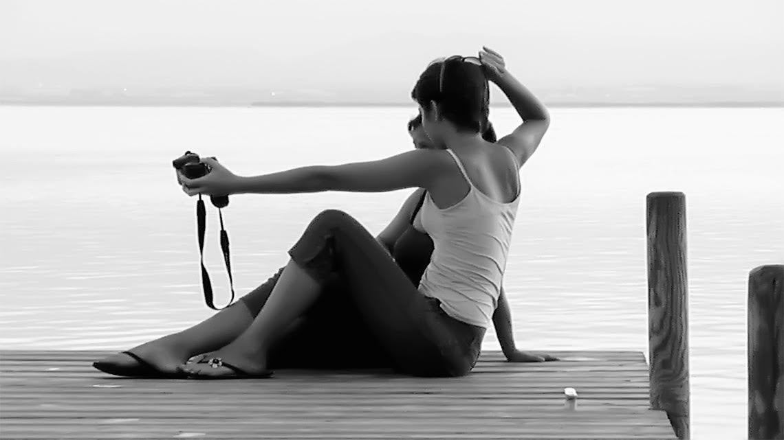 Te espero en el lago. Relato de Michèle Rodríguez