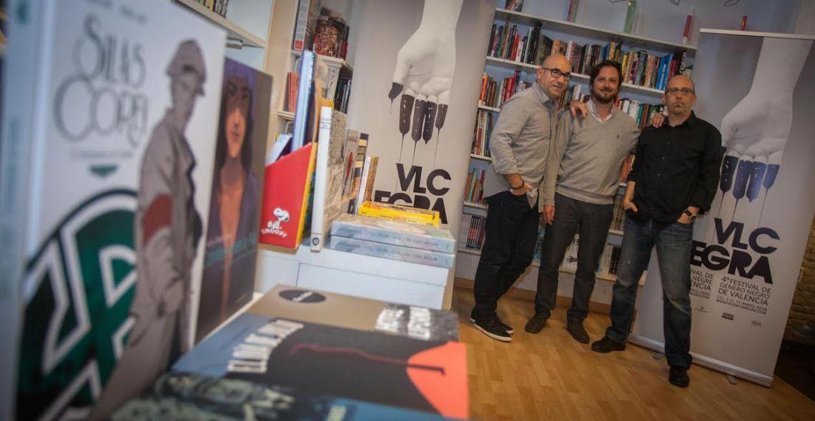El festival Valencia Negra despega. Habla su director, Jordi Llobregat. Josevi Blender para MoonMagazine.