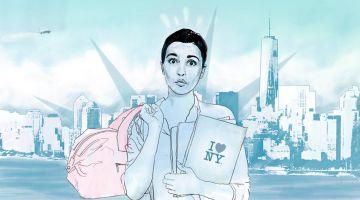 Me voy a Nueva York, ¡bye bye, babies! ¡Adiós, adiós! la prima de Bridget se nos va de viaje. Humor con Pilar García.