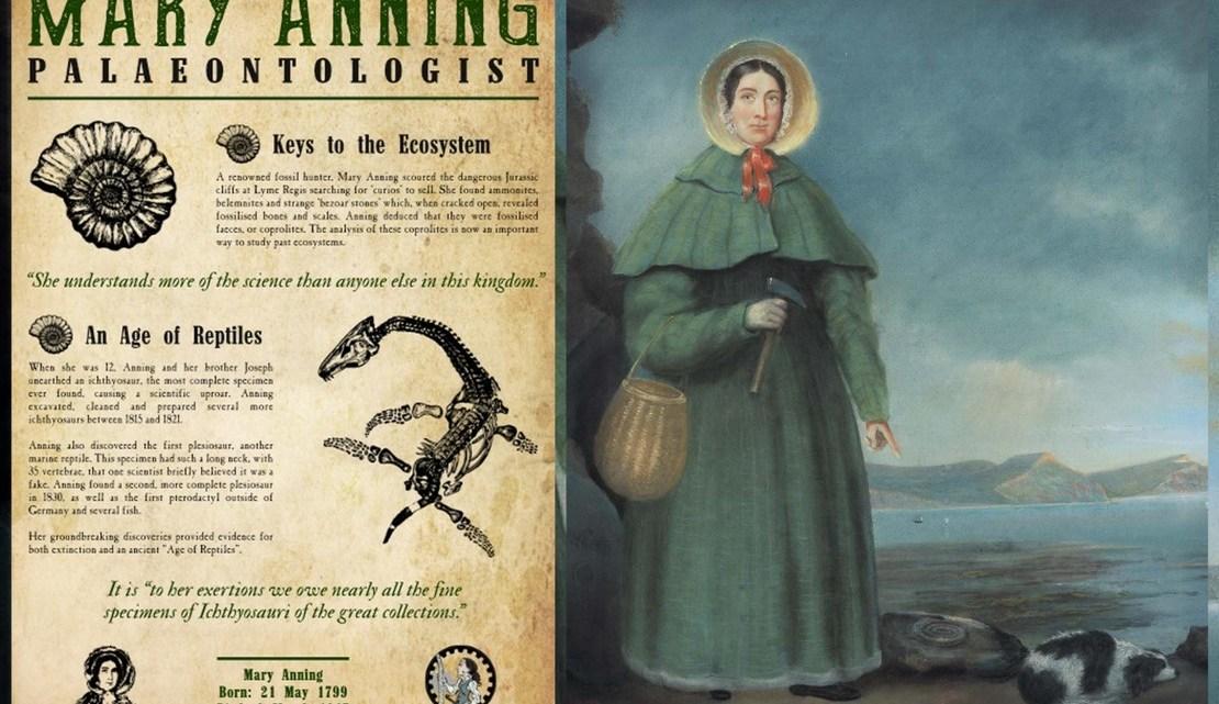 Mary Anning: Una viajera en los mares prehistóricos. Artículo de la escritora italiana Paola Iotti sobre la paleontóloga inglesa.