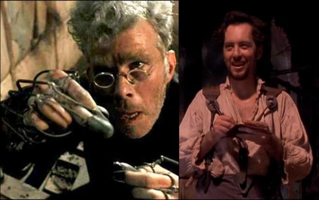 Renfield y Seward, en Drácula de Bram Stoker, dirigida por Francis Ford Coppola.