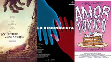 Un monstruo viene a verme frente al low cost de La reconquista y Amor Tóxico. Crítica de José Manuel Cruz Bar.