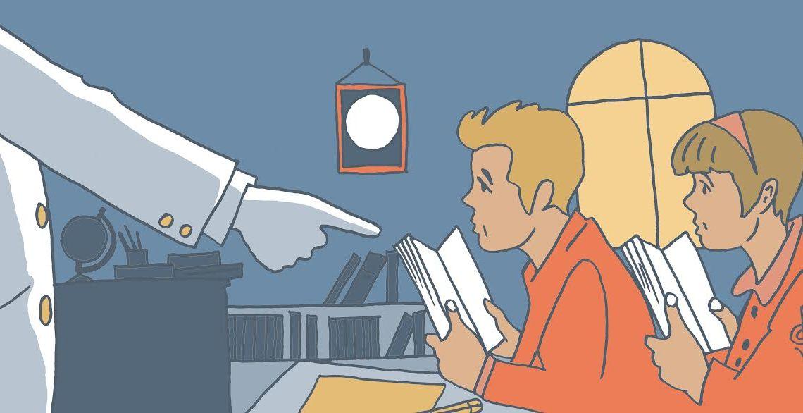 Lecturas recomendadas en los colegios: ¿Qué leen los alumnos? Artículo de Santiago García-Clairac para Revista MoonMagazine. Caricias de papel, literatura infantil y juvenil.