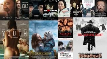 Las mejores películas extranjeras del 2016. Nuestro Top Ten Internacional. Ranking de Revista MoonMagazine. José Manuel Cruz.