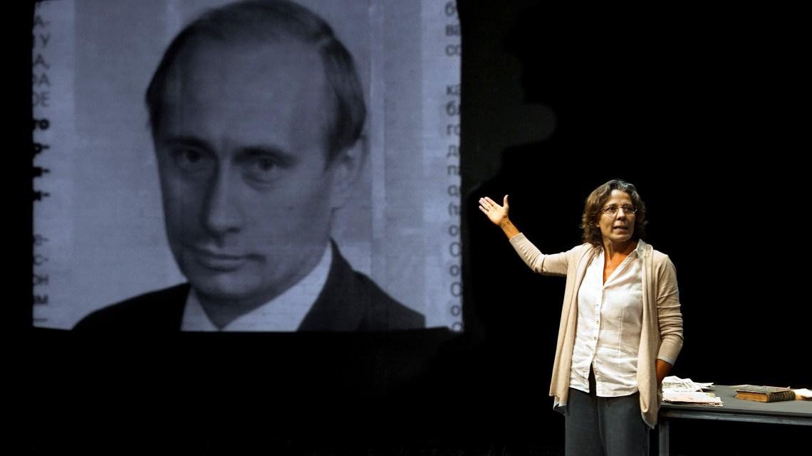 Anna Politkóvskaya, Mujer no reeducable: Teatro político de Stefano Massini 2